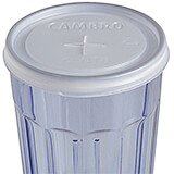 Translucent, Disposable Lid Fits 7.7 oz. Newport Tumbler, 1000/PK