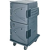 Granite Gray, Hot/Cold Double Compartment Food Holding Cabinet, Celsius