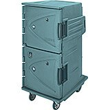Granite Green, Hot/Cold Double Compartment Food Holding Cabinet, Fahrenheit