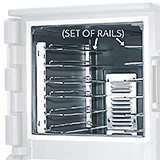 1 set of 2 Rails  for All CMBH1826 Carts