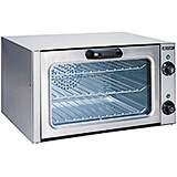 Stainless Steel Countertop Convection Oven, Quarter Size 1750W