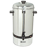 Stainless Steel Coffee Percolator / Coffee Urn 60 Cup