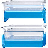 Cold Blue, Full Size 1/1 GN Buffet Camchiller, Food Pan Ice Pack