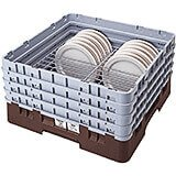 "Brown, Full Size Dish Rack, 10 To 11"" Plates"