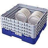 "Blue, Full Size Dish Rack, 9 To 10-1/2"" Plates"