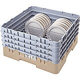 "Beige, Full Size Dish Rack, 7 To 8-5/8"" Plates"