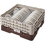 "Brown, Full Size Dish Rack, 4 To 5"" Plates"