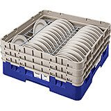 "Blue, Full Size Dish Rack, 6 To 7-5/8"" Plates"