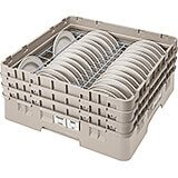 "Beige, Full Size Dish Rack, 4 To 5"" Plates"