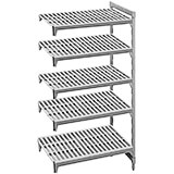 "Speckled Gray, Camshelving Add-on Unit, 36"" x 21"" x 72"", 5 Shelves"