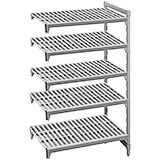"Speckled Gray, Camshelving Add-on Unit, 42"" x 24"" x 72"", 5 Shelves"