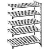 "Speckled Gray, Camshelving Add-on Unit, 48"" x 18"" x 64"", 5 Shelves"