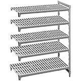 "Speckled Gray, Camshelving Add-on Unit, 54"" x 24"" x 72"", 5 Shelves"