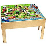City Transportation Kids Activity Table