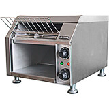 Stainless Steel Commercial Conveyor Toaster, Single Or Dual Side Toasting, 300 Slices Per Hour