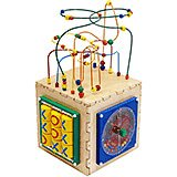 Deluxe Busy Cube, Learn and Play Toy