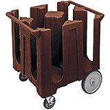 Dark Brown, Dish Caddy, Maximum Plate Size: 12-1/4""
