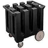 Black, Dish Caddy, Maximum Plate Size: 5-3/4""
