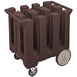 Dark Brown, Dish Caddy, Maximum Plate Size: 7""
