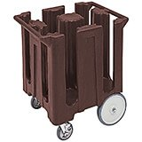Dark Brown, Dish Caddy, Maximum Plate Size: 8-1/4""