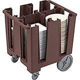 Dark Brown, Versa Dish Caddy, Maximum Plate Size: 11-1/4""