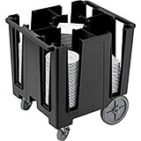 Black, Versa Dish Caddy, Maximum Plate Size: 9-1/2""