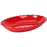 Red, Deli Platters, Oval, 6/PK