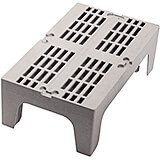 "Speckled Gray, 30"" S-Series Dunnage Rack, Slotted Top"