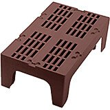 "Dark Brown, 36"" S-Series Dunnage Rack, Slotted Top"