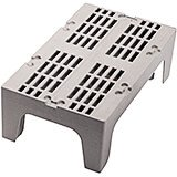 "Speckled Gray, 36"" S-Series Dunnage Rack, Slotted Top"