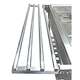Stainless Steel Tray Rail / Holder for EST-240 Steam Table