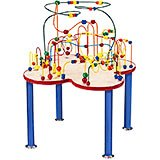 Fleur Roller Coaster, Wire and Bead Table