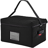 "Black, Nylon 18"" X 14"" X 12"" Food Delivery Bag, Insulated Food Carrier, 4/PK"