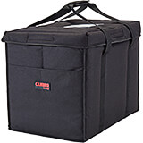 "Black, Nylon 21"" X 14"" X 17"" Food Delivery Bag, Insulated Food Carrier, 4/PK"