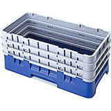 Navy Blue, Half Size Base Racks with 3 Extenders