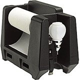 Black, Hand Wash Station Accessory with Paper Towel Holder