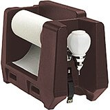 Dark Brown, Hand Wash Station Accessory with Paper Towel Holder