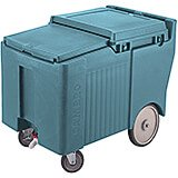 "Slate Blue, Ice Bin / Caddy, 175 Lb. Capacity, 10"" Easy Wheels"