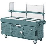 Granite Green, Mobile Food Kiosk, 6 Food Pan Wells