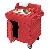 Hot Red, Food Preparation Cart / Work Station