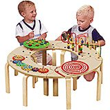 Mini Circle of Fun Activity Table