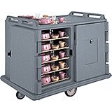 """Granite Gray, Room Service / Meal Delivery Cart, 15"""" x 20"""" Trays"""
