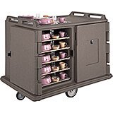 """Granite Sand, Room Service / Meal Delivery Cart, 15"""" x 20"""" Trays"""