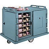 "Slate Blue, Room Service / Meal Delivery Cart, 14"" x 18"" Trays"