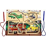 Magnetic Toy Transportation Maze Game