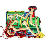 Magnetic Toy Train Maze Game