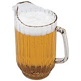 Clear, 48 Oz. Polycarbonate Pitcher, 6/PK