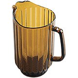 Amber, 60 Oz. Polycarbonate Pitcher, 6/PK