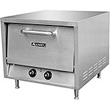 Stainless Steel Countertop Pizza Oven W/ 2 Removable Ceramic Hearth Baking Shelves, 3600W