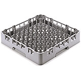 Soft Gray, 9 X 9 Peg Rack, Full Size Dish Rack
